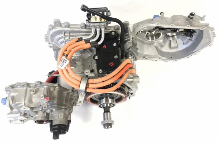 2017 Chevrolet Bold electric gearbox