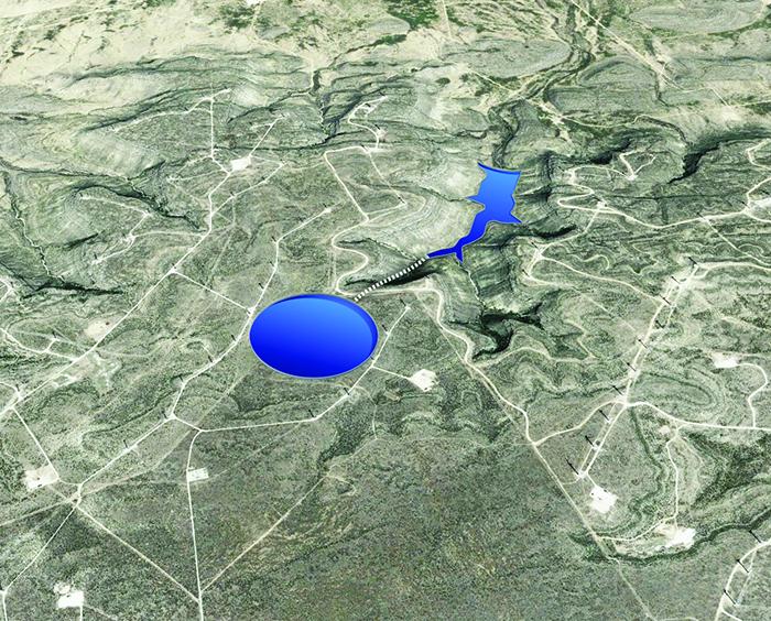 Map of Indian Mesa