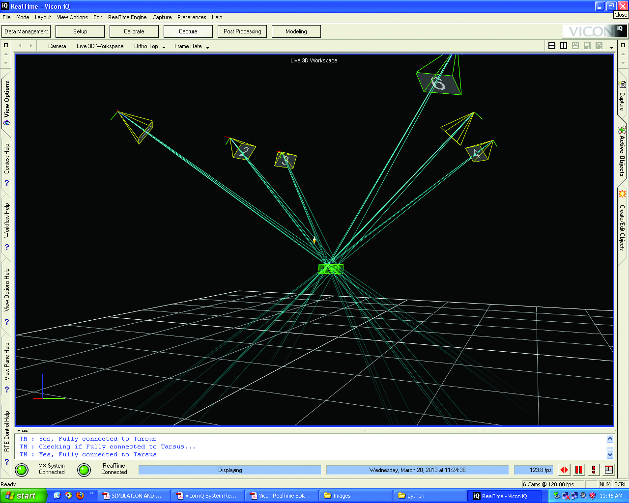 3D motion capture of uas maneuvers in the laboratory