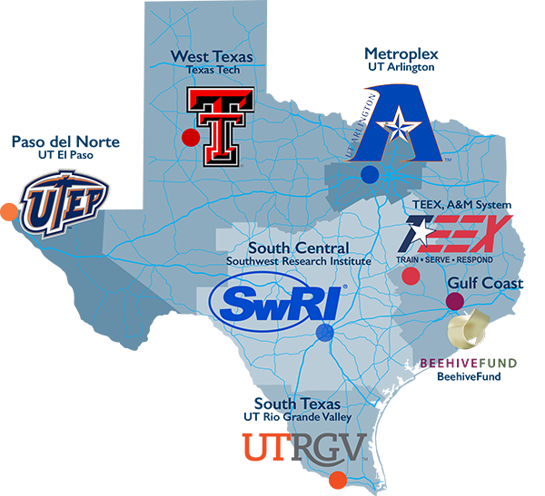 TMAC map of Texas