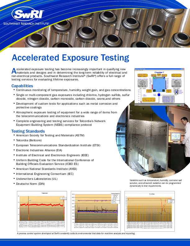 Go to Accelerated Exposure Testing Flyer