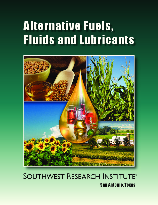 Go to Alternative Fuels, Fluids and Lubricants brochure