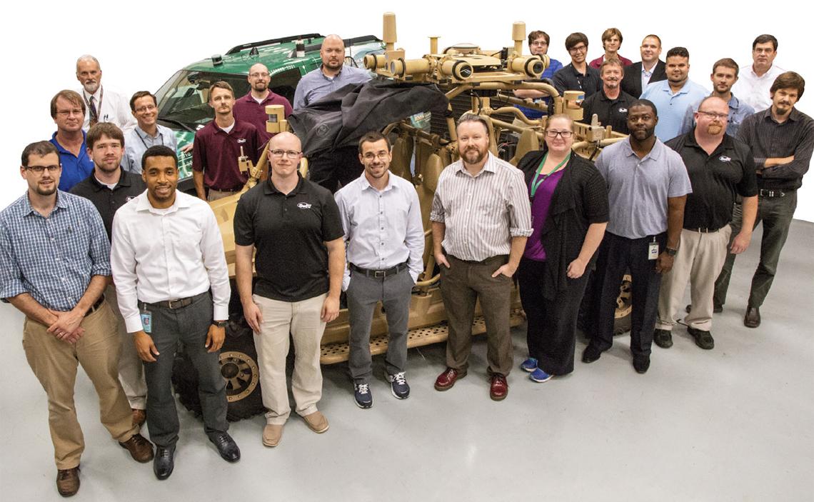 Staff of automated vehicle program