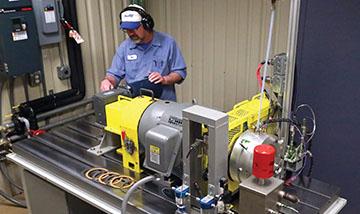 Automatic transmission fluid testing laboratory