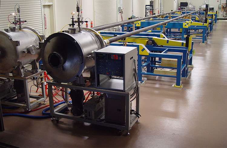 Machinery to apply the coating