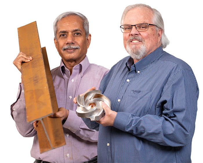 Gordon Wittmeyer and Dr. Biswajit Dasgupta