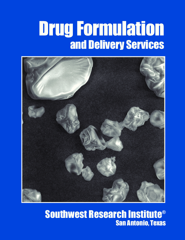 Go to Drug Formulation and Delivery Services Brochure