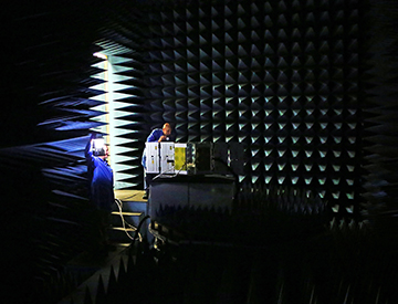 Electromagnetic compatibility and interference testing satellites