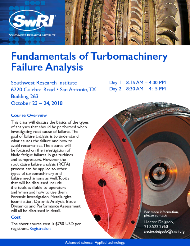 Go to Fundamentals of Turbomachinery Failure Analysis flyer