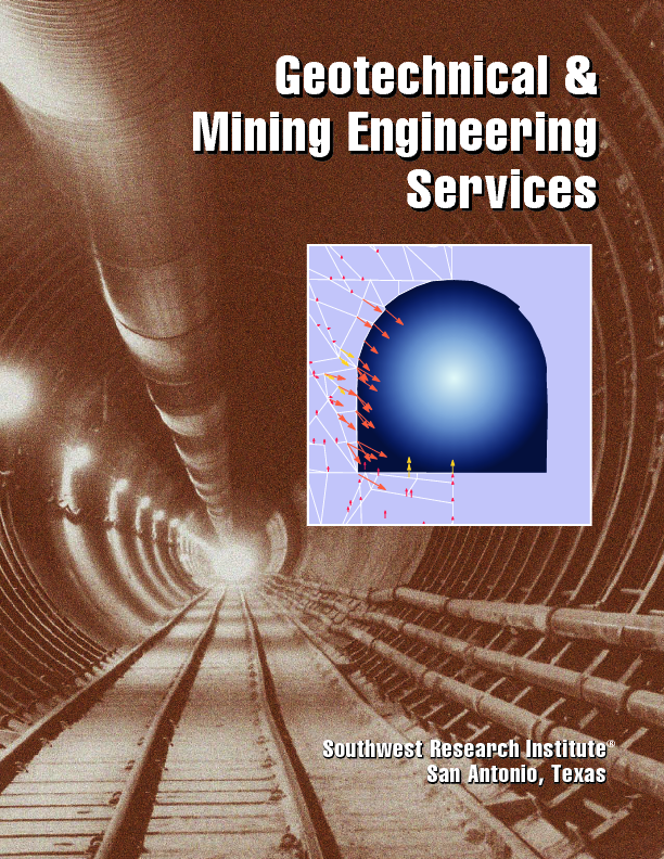 Go to geotechnical mining engineering services flyer