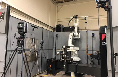 heavy industrial robot