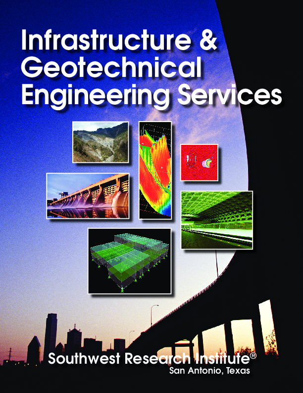 Go to infrastructure geotechnical engineering services flyer