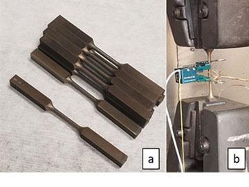 Ingot tensile specimens and tensile test setup