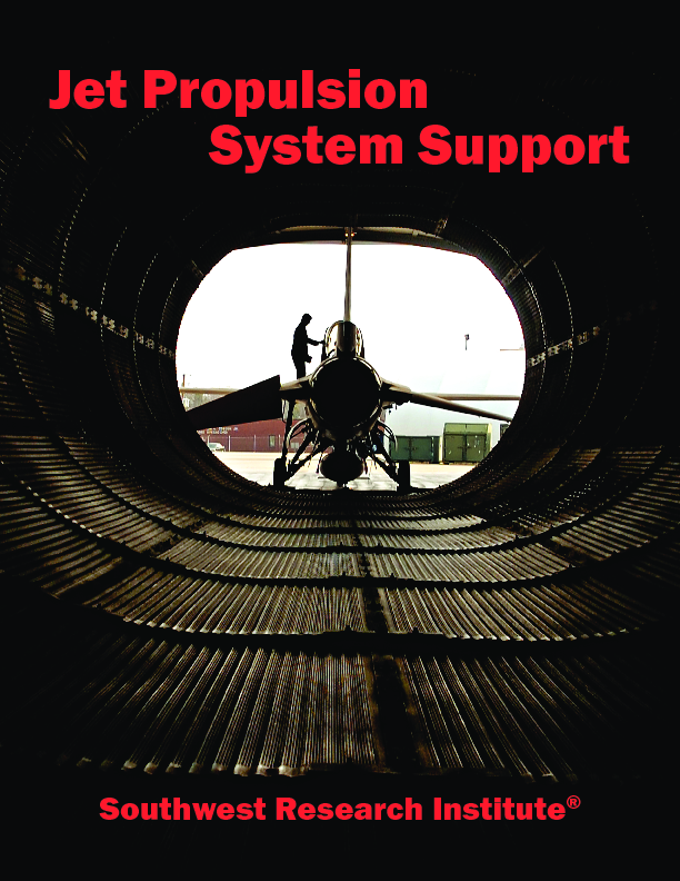 Go to jet propulsion system support flyer