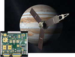 SwRI-built UVS controller card used on JUNO spacecraft