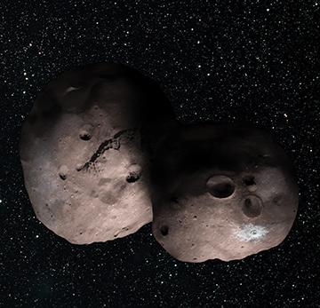 Kuiper Belt object 2014 MU69