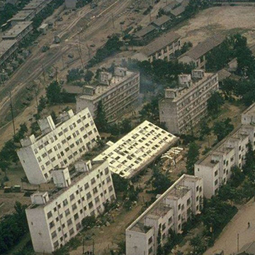 Liquefaction caused large areas to subside by up to 4 feet during 1964 Niigata earthquake in Japan