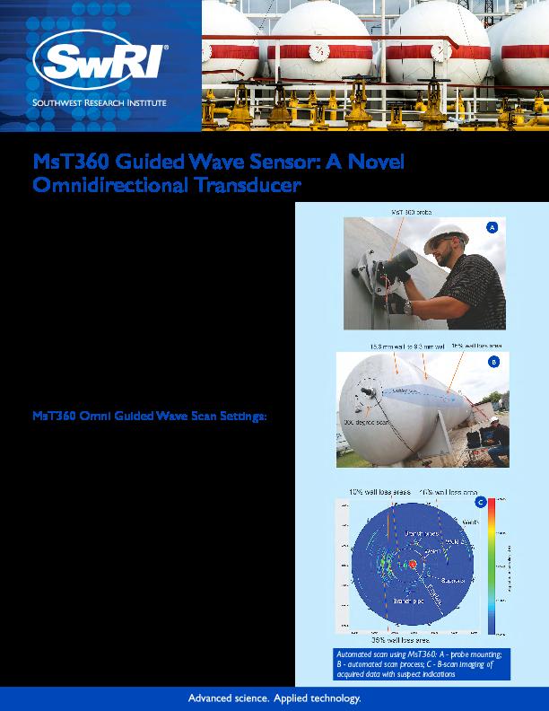 Go to MsT360 Guided Wave Sensor: A Novel Omnidirectional Transducer flyer