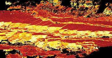 digital photogrammetry 3D image of outcrop