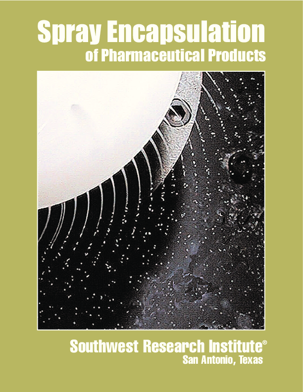 Go to Spray Encapsulation of Pharmaceutical Products