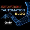 xray of robotic arm with the words Innovations in Automation Blog overlayed
