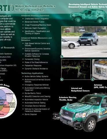 Go to Mobile Autonomous Robotics Technology Initiative (MARTI) flyer