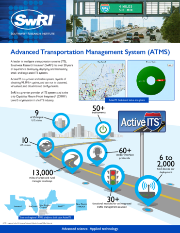 Go to Advanced Transportation Management System (ATMS) flyer
