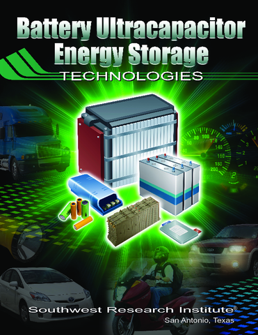 Go to battery ultracapacitor energy storage technologies brochure