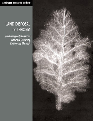 Go to Land Disposal TENORM flyer