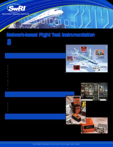 Go to network-based flight test instrumentation flyer