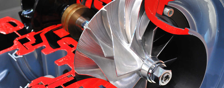 Radial Flow Gas Turbine