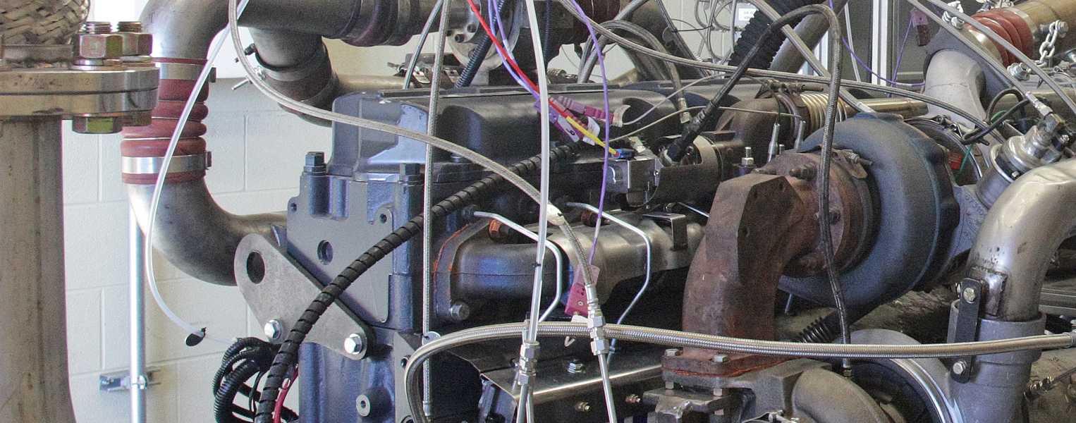 Go to Diesel Engine-Based Lubricant Testing