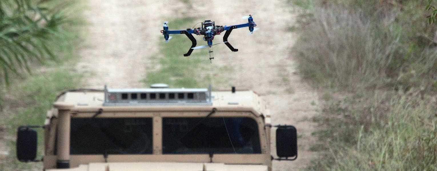 Go to Unmanned Aerial Systems