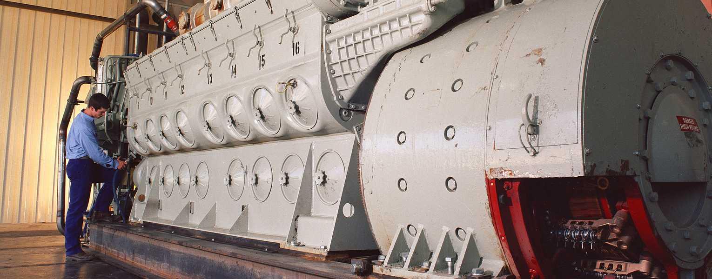 Go to EMD 2-567 Engine Facility
