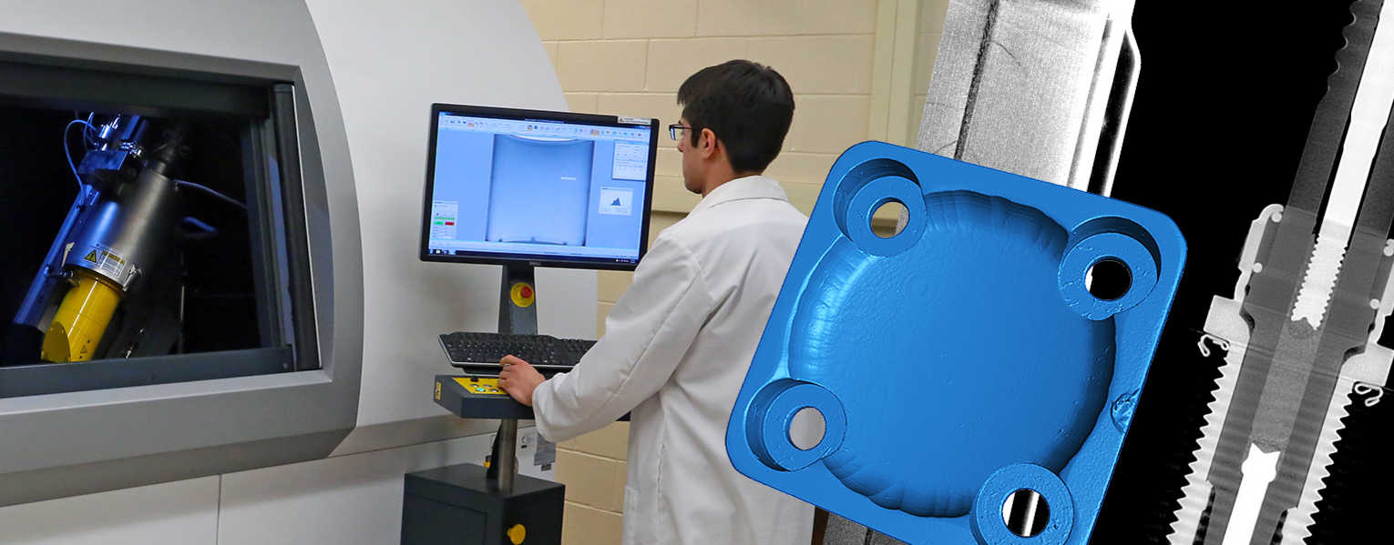 Go to Industrial CT Scanning