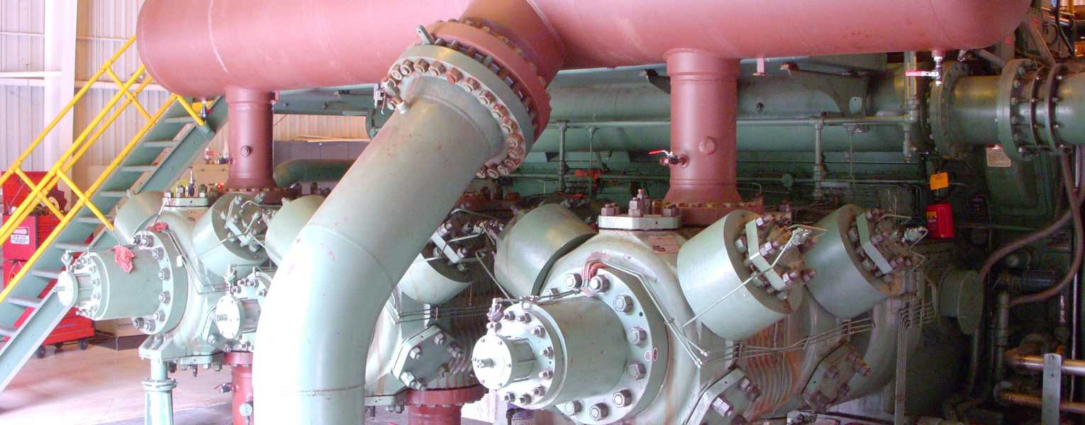 image of reciprocating compressors foundation integrity
