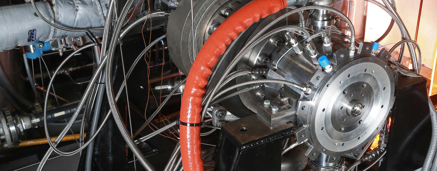 section of a sco2 turbine