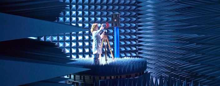 Go to RF Anechoic Test Facility