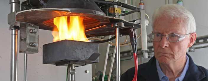 Go to Cone Calorimeter Fire Performance Evaluation