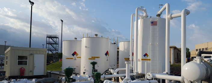 heavy oil testing facility