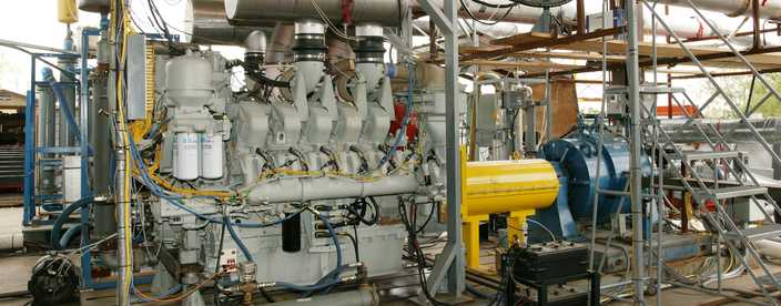 Large Engine Testing