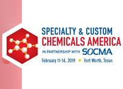 Go to Specialty & Custom Chemicals America event