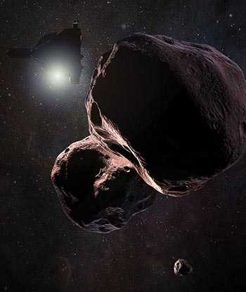 News Horizons encountering 2014 MU-69
