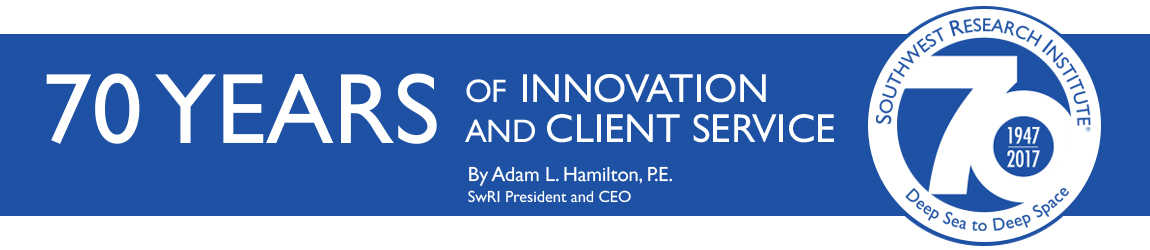 70 Years of Innovation and Client Service