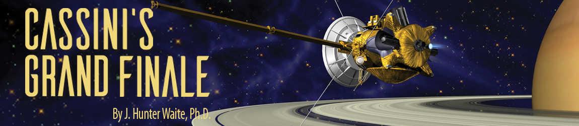 Cassini's Grand Finale title image