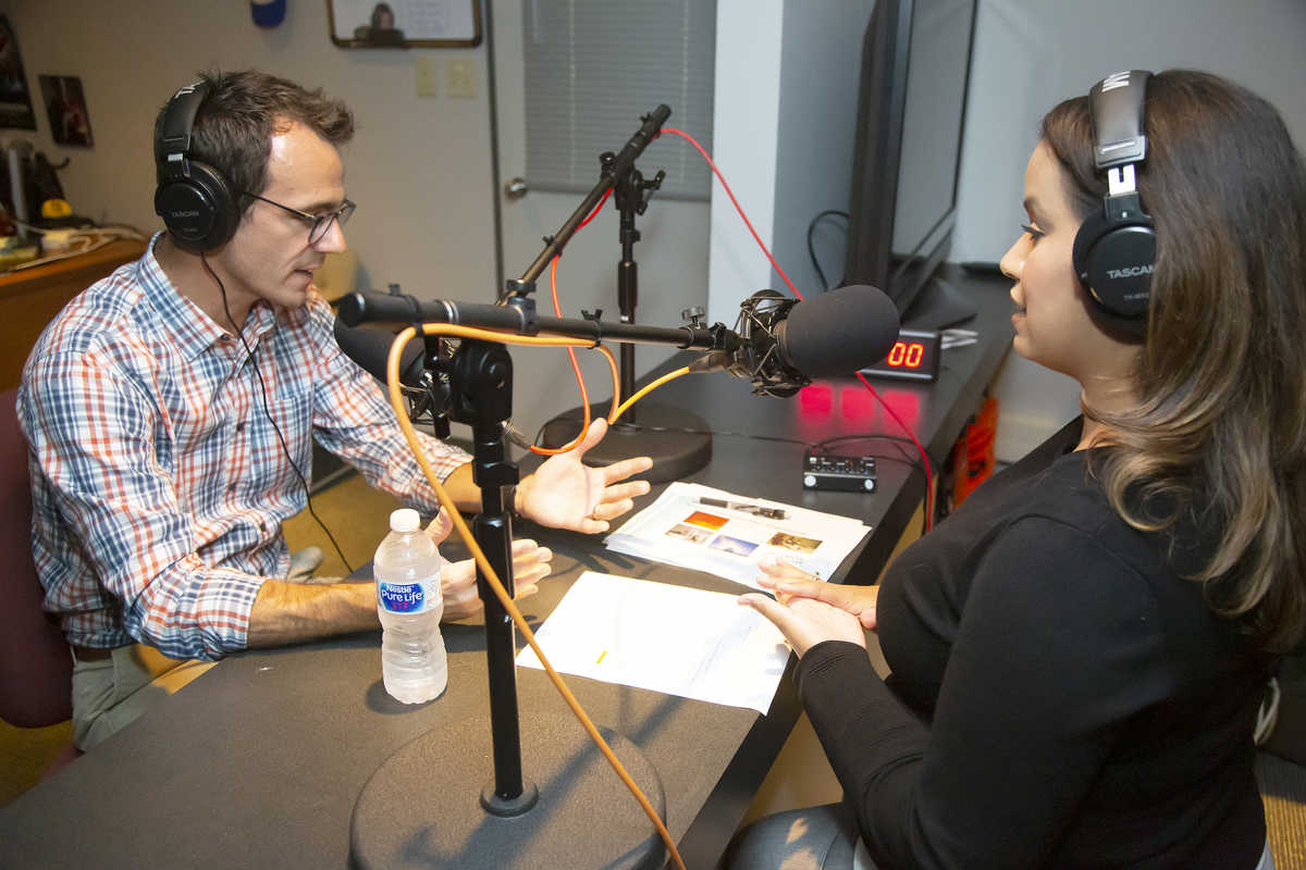SwRI robotics expert Matt Robinson tells Lisa Peña that everything manufactured today has been touched by a robot.