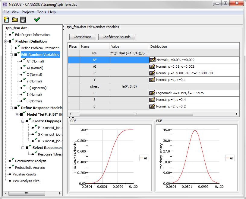 image of screen shot of random variables