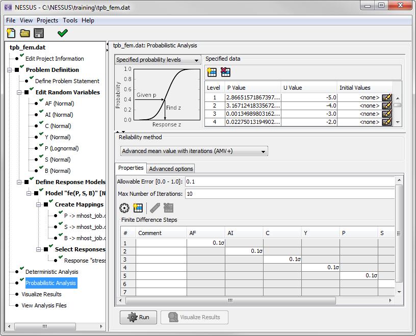 image of screenshot of Set Analysis Type