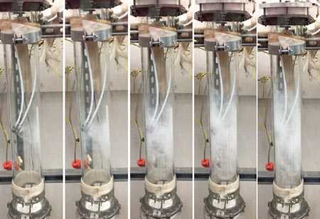 Process of using ammonia to scrub acid gases