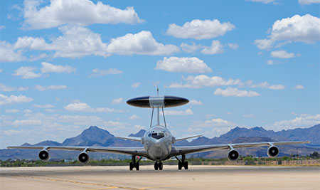 E-3 aircraft
